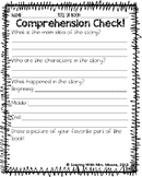 Comprehension Questions for ANY story or passage!