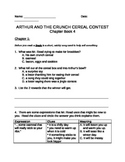 Comprehension Questions for Arthur Chapter Book 4 - Crunch