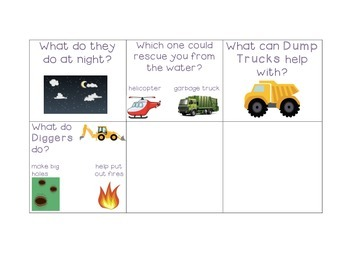Comprehension Questions for Dig, Dig, Digging