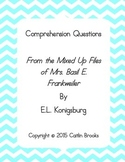 "Comprehension Questions for "" ... Files of Mrs. Basil E. F"