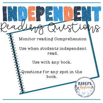 Reading Comprehension Questions- Independent Reading