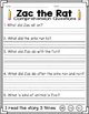 Comprehension Questions for K and 1st Grade (Starfall)