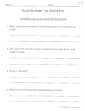 Comprehension Questions for LLI Blue Kit, Stories 61-70