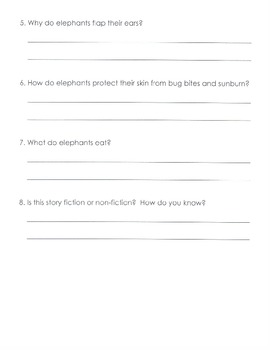Comprehension Questions for LLI Blue Kit, Stories 81-90