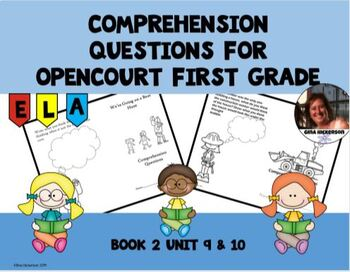 Comprehension Questions for OpenCourt First Grade