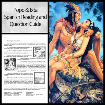 Comprehension Questions for Popocatépetl e Ixtaccíhuatl (Los novios)