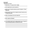 Comprehension Questions for School House Rock video, Ameri
