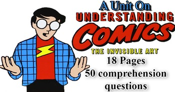 Comprehension Questions for Scott McCloud's Graphic Novel Understanding Comics