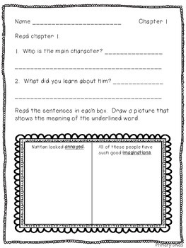 Comprehension Questions for Second Grade Friends by Miriam Cohen