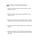 "Comprehension Questions for ""Socks"" by Beverly Cleary - By Chapter - CCGPS"