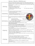 Comprehension Questions for Teachers and Parents