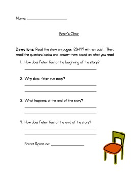 Comprehension Questions for Unit 4 First Grade Reading Street
