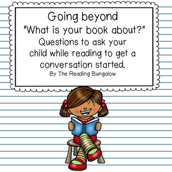 Comprehension Questions to Ask Your Child at Home