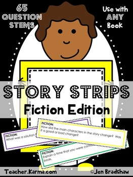 Comprehension Questions to Use With ANY Text BUNDLE ~ Test Prep