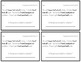 Comprehension Quick Check Cards - 2nd Grade - Exit Tickets, Task Cards