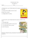 Comprehension Quiz, Unit 4, Bend 3