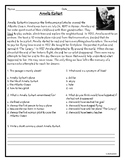 Comprehension Quizzes and Sequencing Chart in English