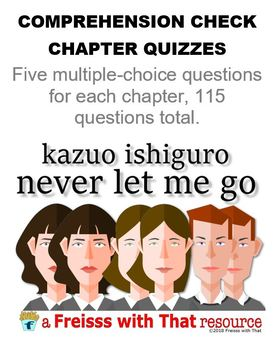 Comprehension Quizzes for Never Let Me Go by Kazuo Ishiguro