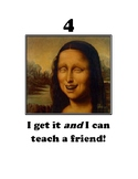 Comprehension Rating with Mona Lisa images
