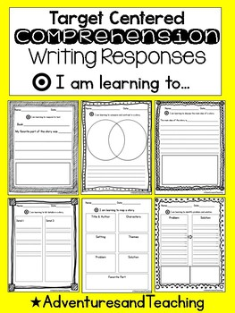 40 Comprehension Reading Response Activity Pack {I am lear