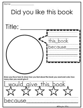 Reading Comprehension Response Sheets & Strategies REVISED