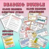 4th Grade Close Reading Bundle-Reading Posters, Question Stems, Success Criteria