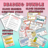 4th Grade Close Reading Bundle-Reading Posters, Question S