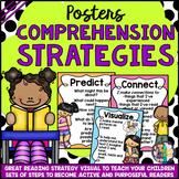 Comprehension Reading Strategies Posters (UK & AUS English