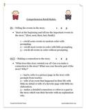 Comprehension Retell Rubric