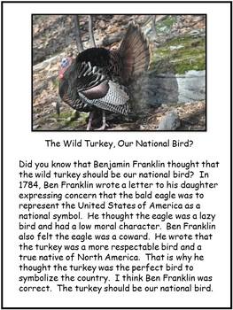 Comprehension Review-Thanksgiving Turkey Theme