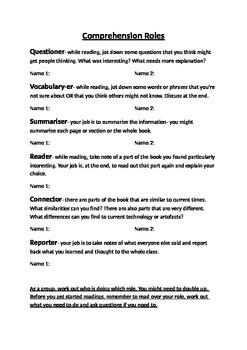 Comprehension Roles