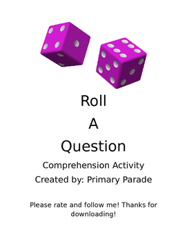 Comprehension Roll-a-Question