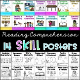 Comprehension SKILL anchor chart posters
