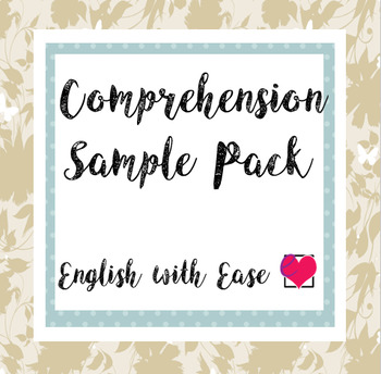 Comprehension Sample Pack