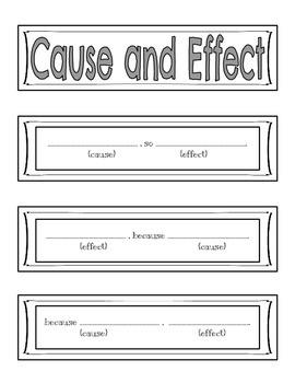 Comprehension Sentence Starter Strips