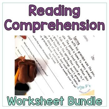 Comprehension Sheets BUNDLE