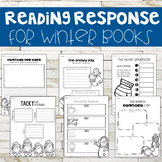 Comprehension Sheets for Winter Books