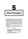 Comprehension - Short Passages with MCQs and Answers
