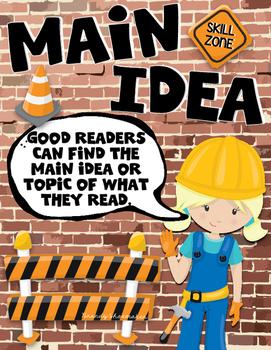 Comprehension Skill: Main Idea