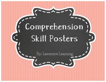 Reading Comprehension Skill Poster Set