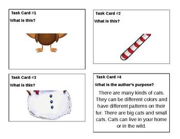 Comprehension Skill Task Cards