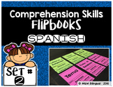 Comprehension Skills Flipbooks SET 2 {SPANISH}