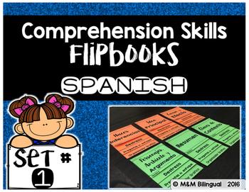 Comprehension Skills Flipbooks SET 1 {SPANISH}