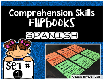 Comprehension Skills Flipbooks SET 1 {SPANISH}