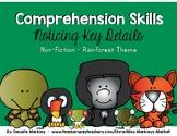 Comprehension Skills - Key Details - Non-Fiction - Rainfor