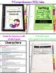 Comprehension Skills Notebook Tabs and Graphic Organizers