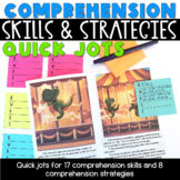 Comprehension Skills & Strategies Quick Jots