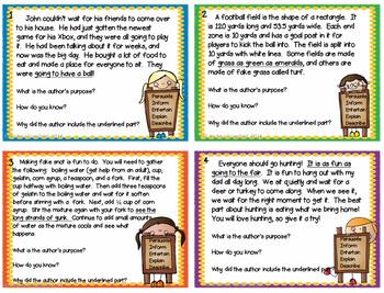 Comprehension Skills Task Card Bundle