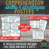 """Comprehension Skills and Strategies Anchor Charts with """"I"""