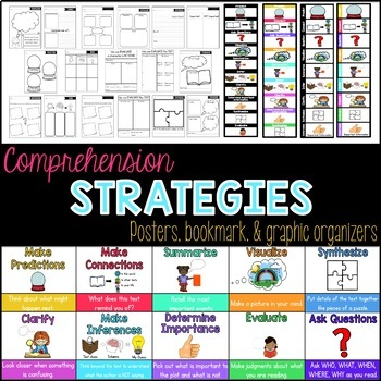 Comprehension Skills and Strategies BUNDLE